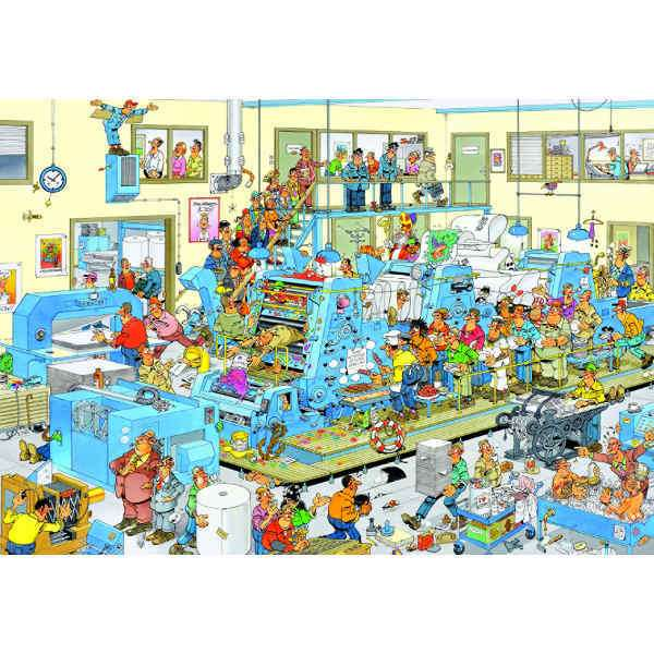 The Printing Office - 3000pc jigsaw puzzle