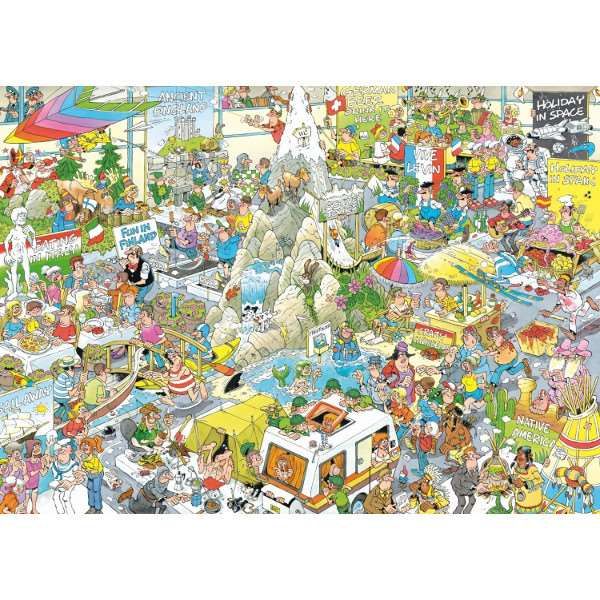 JvH - The Holiday Fair - 1000pc jigsaw puzzle