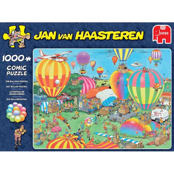 JvH - The Balloon Festival - 1000pc jigsaw puzzle