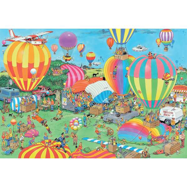 JvH - The Balloon Festival - 2000pc jigsaw puzzle