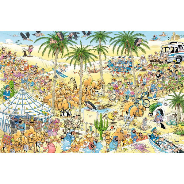 JvH - The Oasis - 1500pc jigsaw puzzle