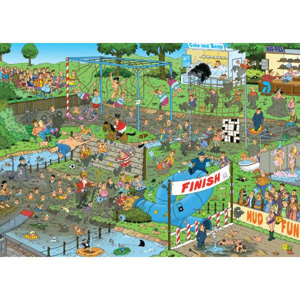 JVH Mudracers - 1000pc jigsaw puzzle