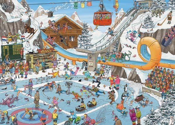 JVH - THE WINTER GAMES 1000 jigsaw puzzle