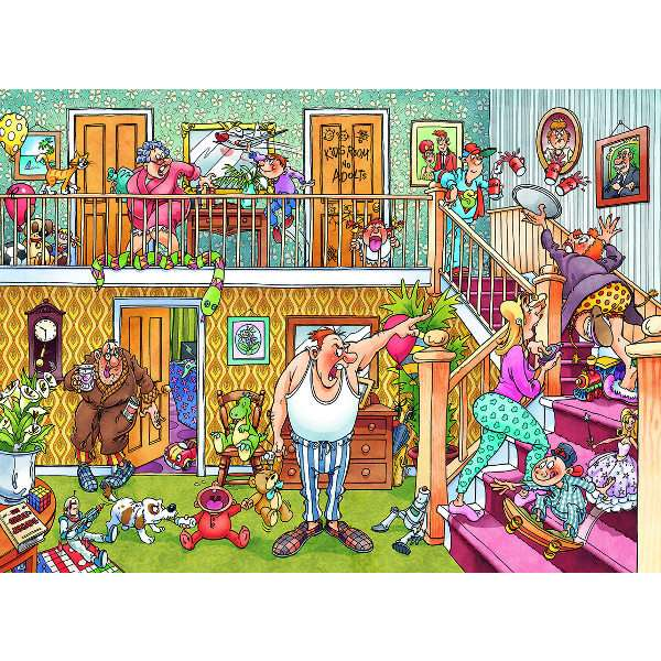 Wasgij Imagine 3 - Slumber Party - 1000pc jigsaw puzzle