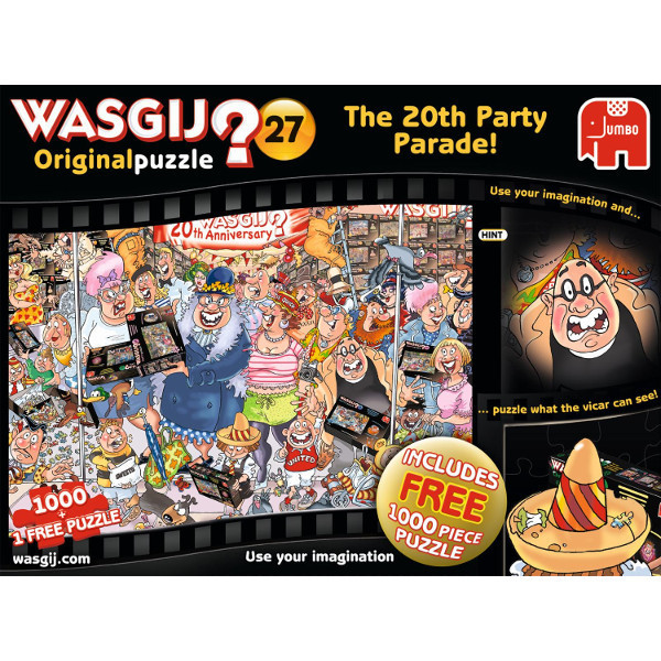 Wasgij - Original 27 - The 20th Party Parade Twin Pack jigsaw puzzle