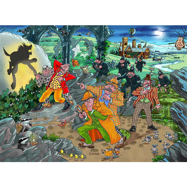 Wasgij Mystery 14 - The Hound of Wasgijville - 1000pc jigsaw puzzle