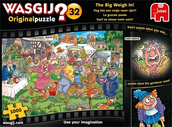 WASGIJ Original 32 - The Big Weigh In - 1000pc jigsaw puzzle