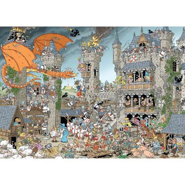 Pieces of History - The Castle - 1000pc jigsaw puzzle