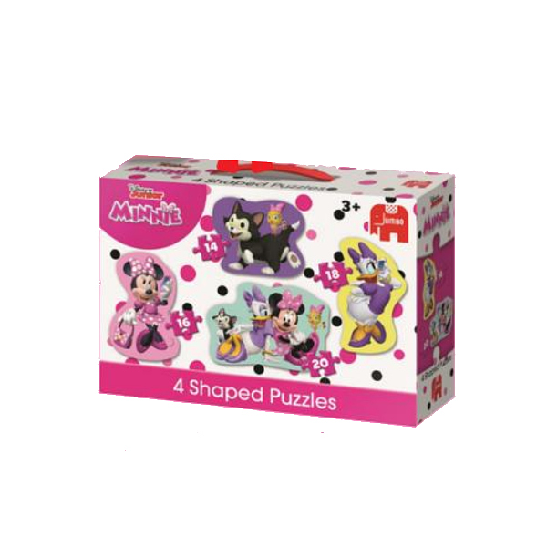 Disney - Minnie Mouse - Four in One jigsaw puzzle