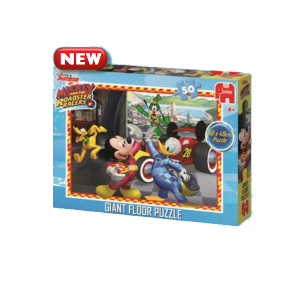 Mickey Mouse - Giant Floor Puzzle - 50pc jigsaw puzzle