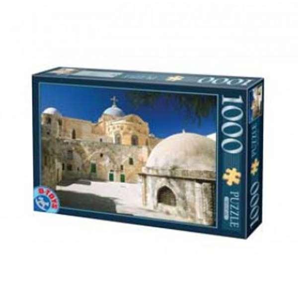Jerusalem House Puzzle: Famous Places Jigsaw Puzzle From