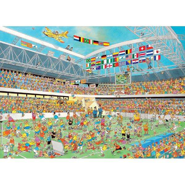 Jan Van Haasteren - Football Crazy jigsaw puzzle