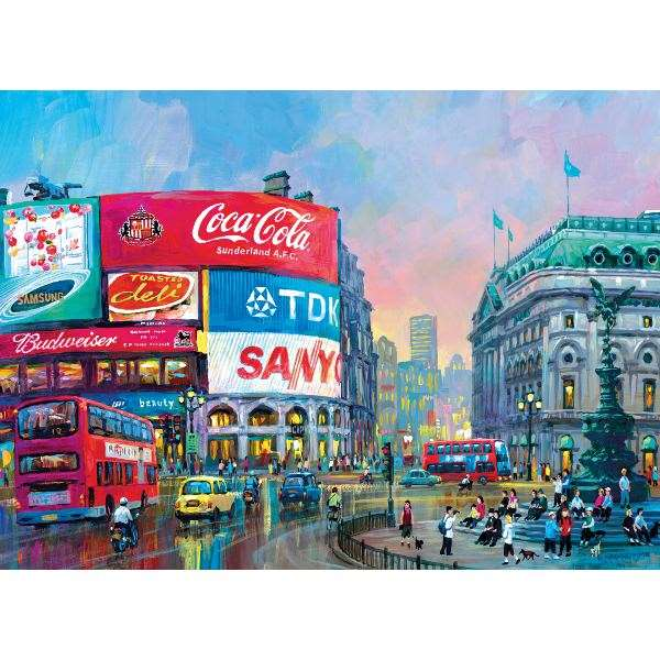 London - Piccadilly - 1000pc jigsaw puzzle