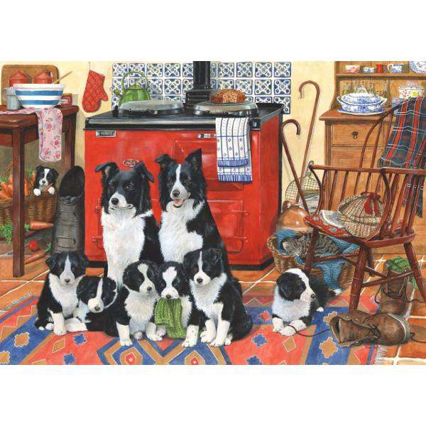 Meet The Family jigsaw puzzle