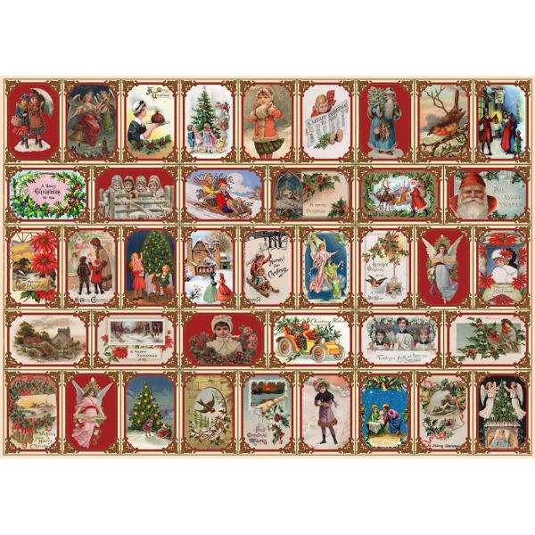 Merry Christmas - 1000pc jigsaw puzzle
