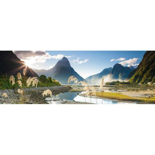 Milford Sound - 1000pc Panoramic jigsaw puzzle