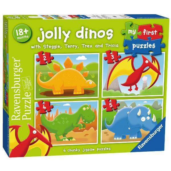My First Puzzle - Jolly Dinos jigsaw puzzle