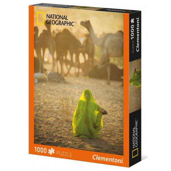 National Geographic - Sari - 1000pc jigsaw puzzle