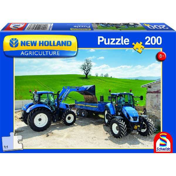 new holland agriculture jigsaw puzzle from jigsaw puzzles direct order today and get free delivery. Black Bedroom Furniture Sets. Home Design Ideas