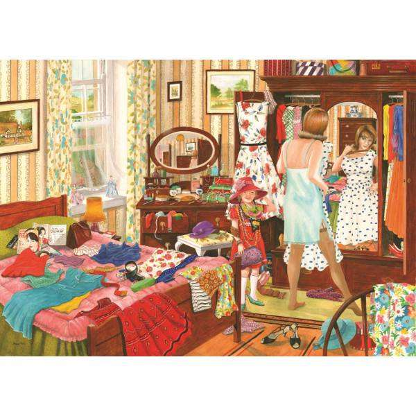 Nothing To Wear jigsaw puzzle