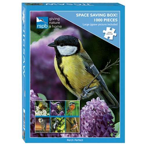 RSPB Perch Perfect jigsaw puzzle
