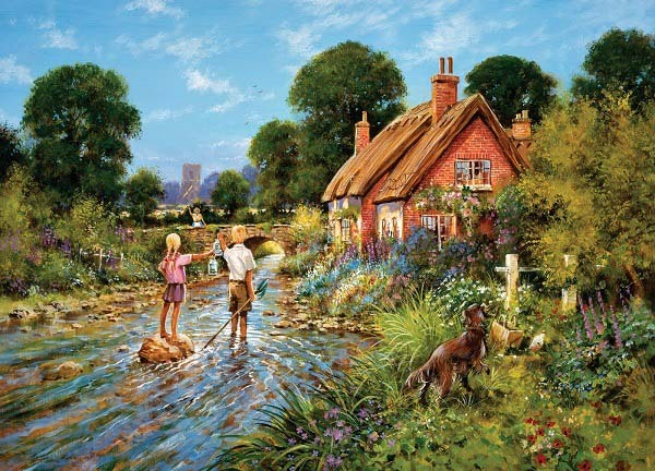 Catching Tiddlers - 1000pc jigsaw puzzle
