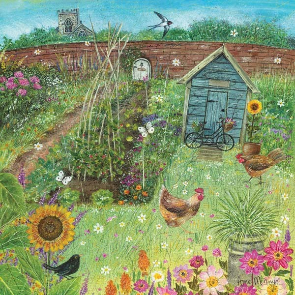 The Vegetable Patch - 1000pc jigsaw puzzle
