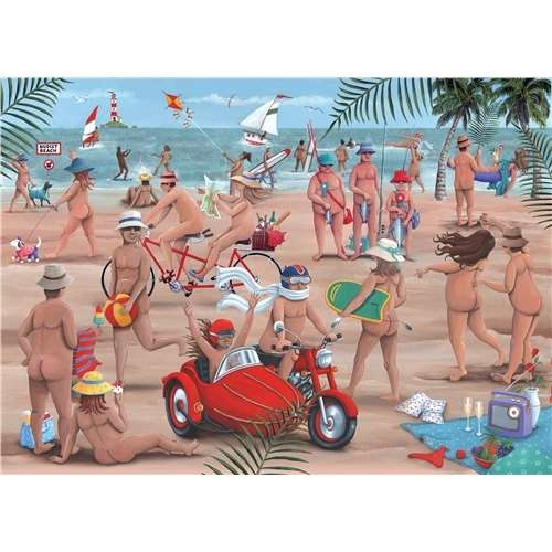 The Nudist Beach - 1000pc jigsaw puzzle