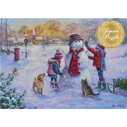 Let It Snow - 1000pc jigsaw puzzle