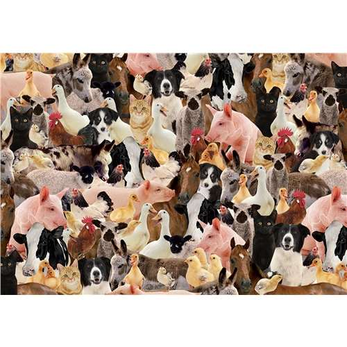Impossible Puzzle - Farmyard - 500pc jigsaw puzzle