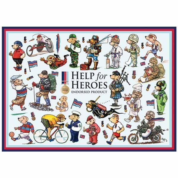 Help for Heroes - Bears - 1000pc jigsaw puzzle