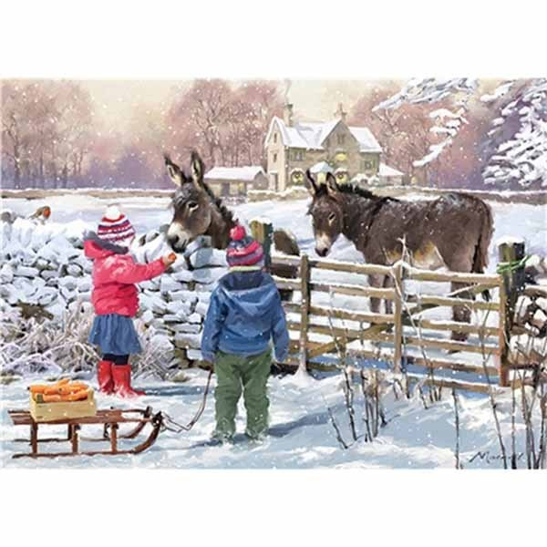 Little Donkey - 1000pc jigsaw puzzle