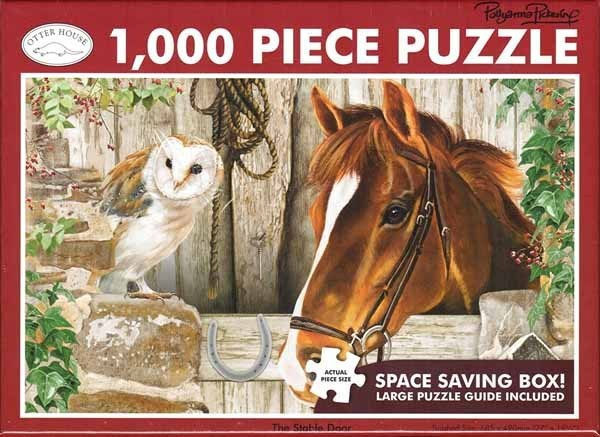 The Stable Door - 1000pc jigsaw puzzle