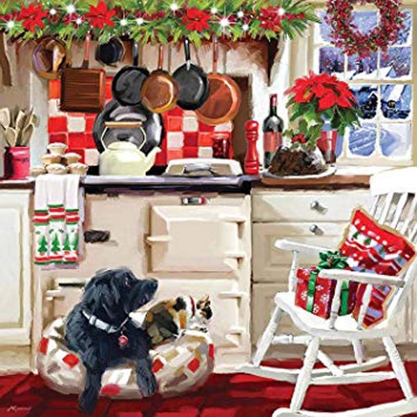 Christmas Kitchen - 1000pc jigsaw puzzle