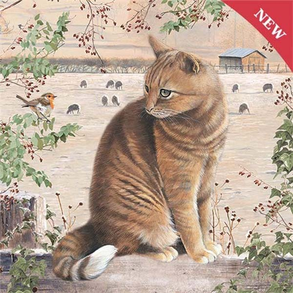 Christmas Cat - 1000pc jigsaw puzzle