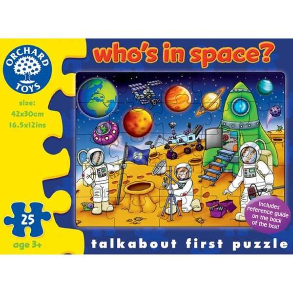 Whos In Space jigsaw puzzle
