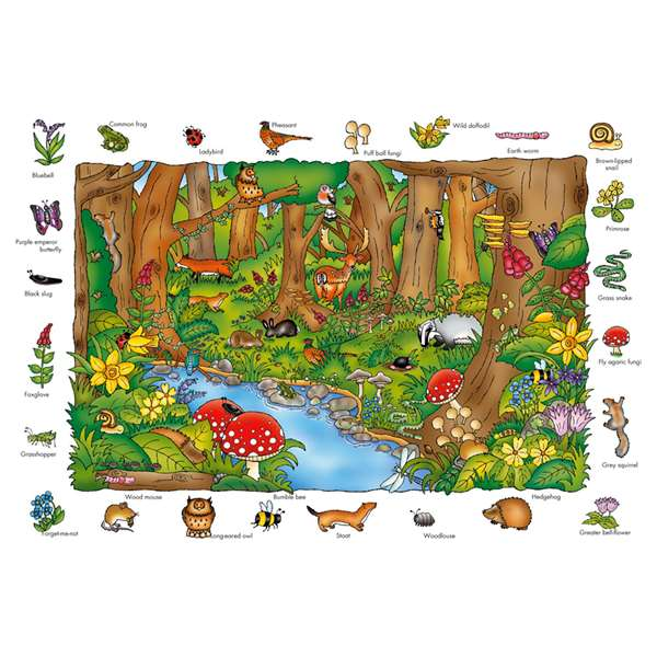 Where In The Woods jigsaw puzzle