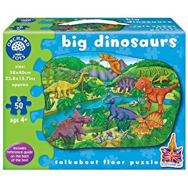 Big Dinosaurs - 50pc jigsaw puzzle