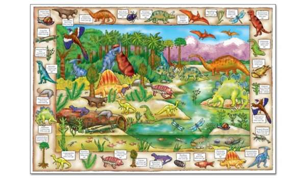 Dinosaur Discovery jigsaw puzzle