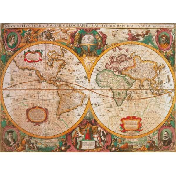 Old Map - 1000pc jigsaw puzzle