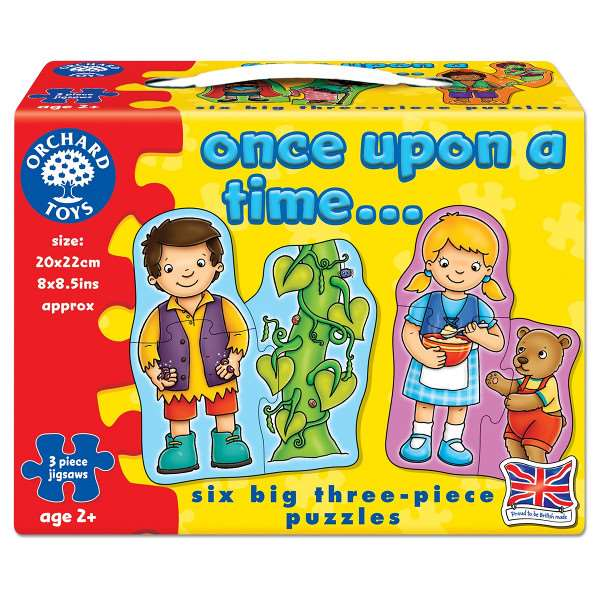 Once Upon a Time - 6 three-piece puzzles jigsaw puzzle