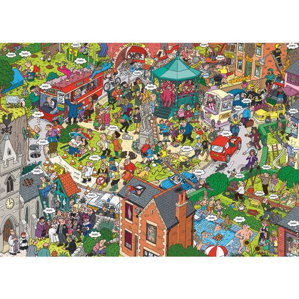 Oops! Street Life jigsaw puzzle