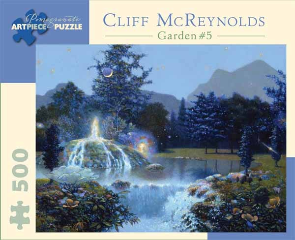 Cliff McReynolds - Garden 5 - 500pc jigsaw puzzle
