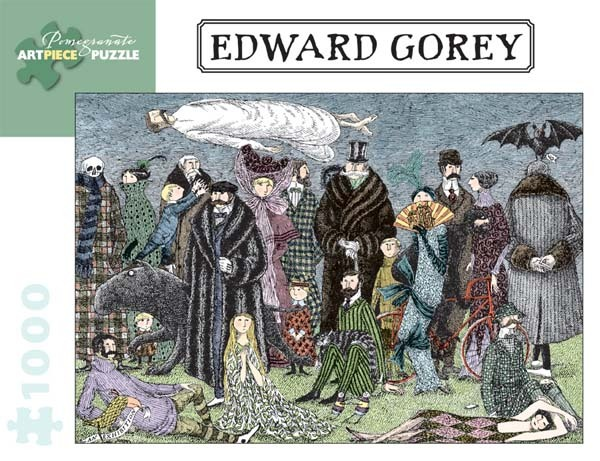 Edward Gorey - 1000pc jigsaw puzzle