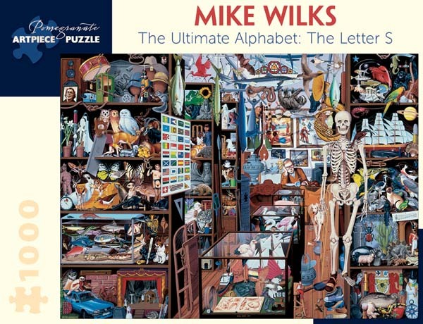 Mike Wilks - Ultimate Alphabet - The Letter S - 1000pc jigsaw puzzle
