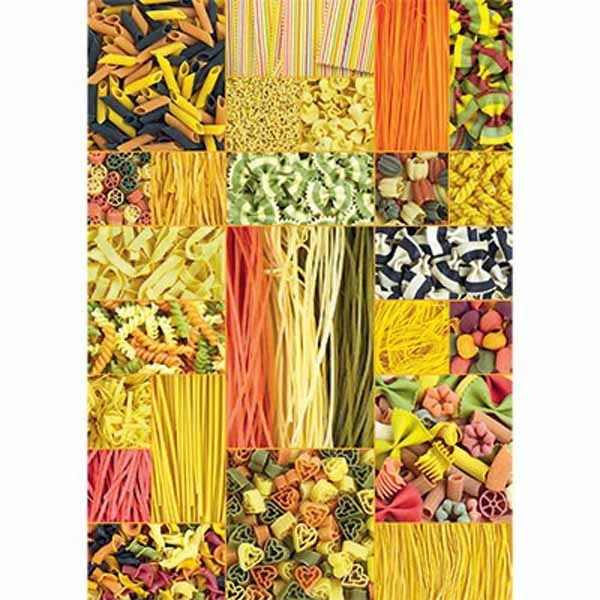 Pasta - 1000 pieces jigsaw puzzle