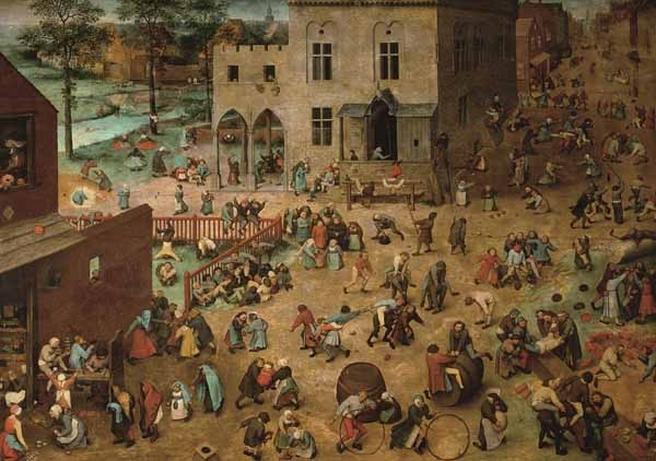 Pieter Bruegel - Childrens Games - 1000pc jigsaw puzzle