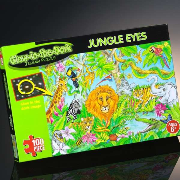 Michael Mccracken Offers Age Fighting Eye And Facial: 100pc Jigsaw Puzzle From Jigsaw Puzzles