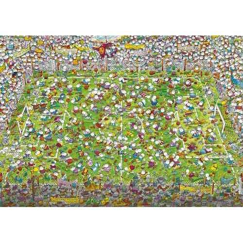 Crazy World Cup jigsaw puzzle