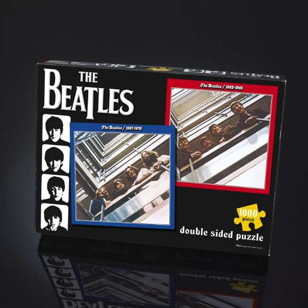 The Beatles - Red and Blue - 1000pc jigsaw puzzle